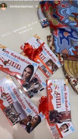 Kim Kardashian: il existe du chocolat à son effigie... La photo étonnante !