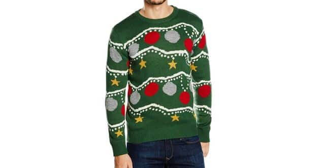 11 Et si vous portiez le modèle guirlande de Noël cette année. Attention à ne pas perdre la boule