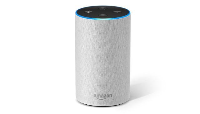 14 Amazon Echo (2ème génération), Enceinte connectée avec Alexa, Tissu sable pour le Black Friday Amazon