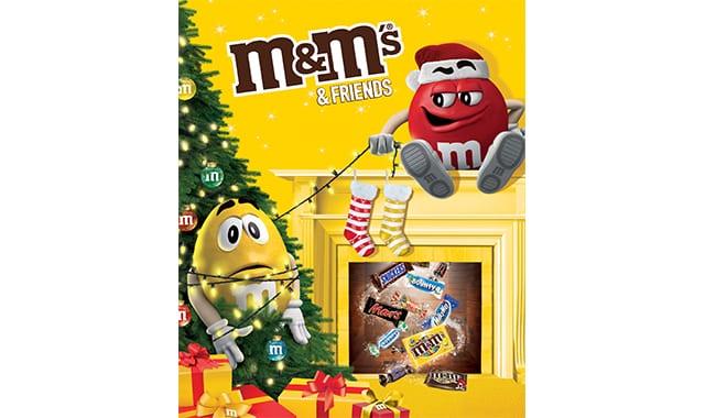 14 Il n'y a pas que Kinder dans la vie, il y a aussi les M&M's. Un cadeau à offrir vite aux petits comme aussi aux grands
