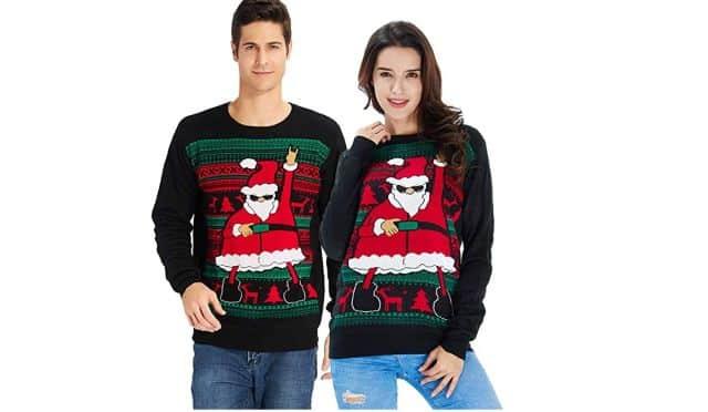 15 Pour les amoureux, il existe aussi un modèle duo. Comme ça, vous allez être assortis pour Noël