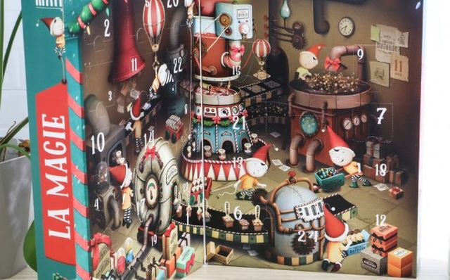 19 Faites de décembre le mois le plus magique de l'année avec ce calendrier de l'avant chocolaté du Comptoir de Mathilde. Tous les jours, une surprise vous attend