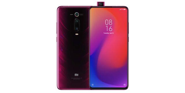 2 Xiaomi Mi 9T Pro Smartphones 6 Go de RAM + 64 Go de ROM, 6,39'' Plein éCran, Processeur 855, 20MP Avant Et 48MP AI CaméRa ArrièRe Triple TéléPhones Mobiles Version Mondiale (Rouge)