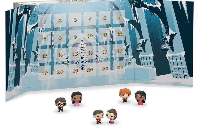 6 Il existe plusieurs calendriers de l'avent pour les fans de Harry Potter. Découvrez chaque jour une figurine Fuko, c'est Noël avant l'heure