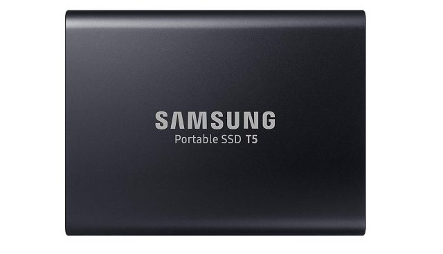 8 Samsung Disque Dur Externe SSD Portable T5 1 To - MU-PA1T0B EU pour le Black Friday Amazon