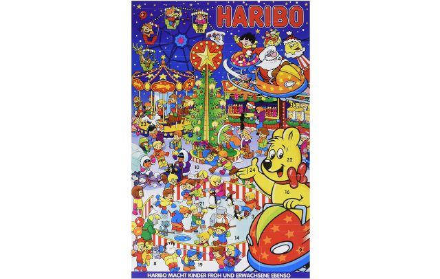 9 Pour ceux ou aussi celles qui adorent les bonbons, vous avez aussi le calendrier de l'avent Haribo. Pensez à vous brosser les dents deux fois par jours pour éviter les caries