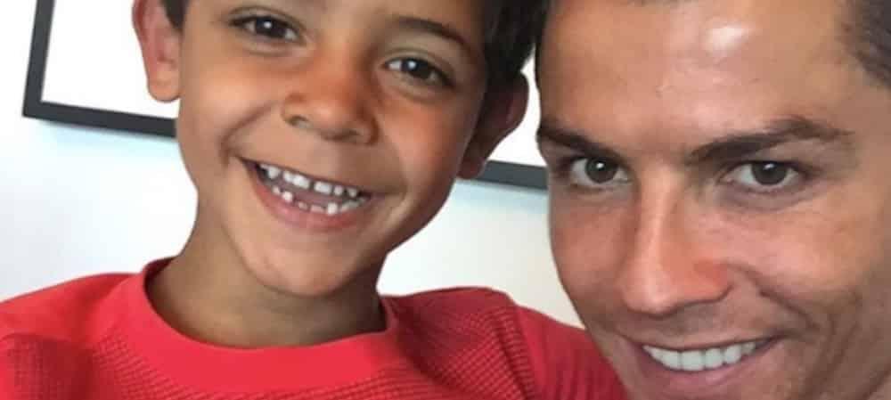 Cristiano Ronaldo: les incroyables stats de son fils de 9 ans !