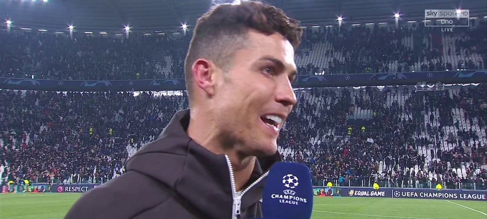 Cristiano Ronaldo ne sera pas sanctionné par la Juventus !