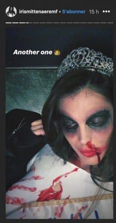 Iris Mittenaere: son chéri Diego El Glaoui lui fait un clin d'oeil sur son costume d'Halloween !