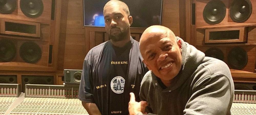 """Kanye West prépare """"Jesus is King 2"""" avec Dr Dre ! (PHOTO)"""