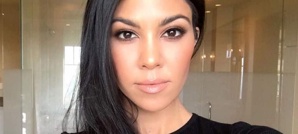 Kourtney Kardashian couverte de diamants: elle fait sensation sur Instagram !