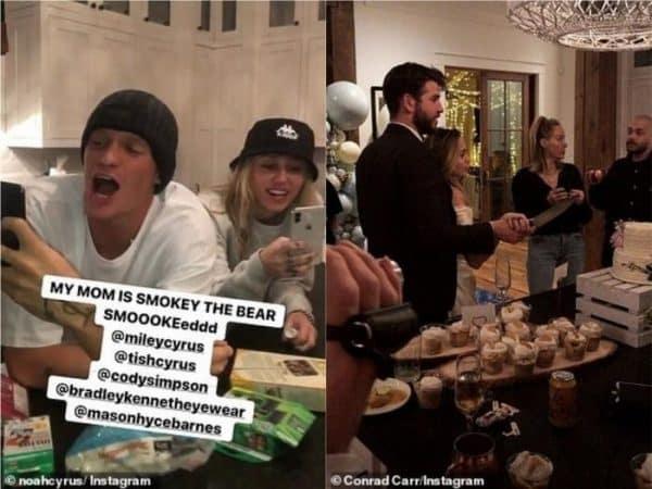 Miley Cyrus irrespectueuse envers son ex Liam Hemsworth ? Ce geste déplacé qui fait le buzz !