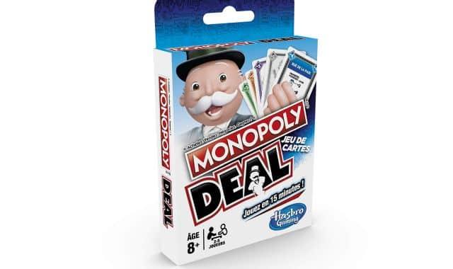 15 Tout le monde connait le Monopoly, mais connaissez vous le Monopoly Deal Encore une bonne idée de cadeau de Noël à moins de 5 euros