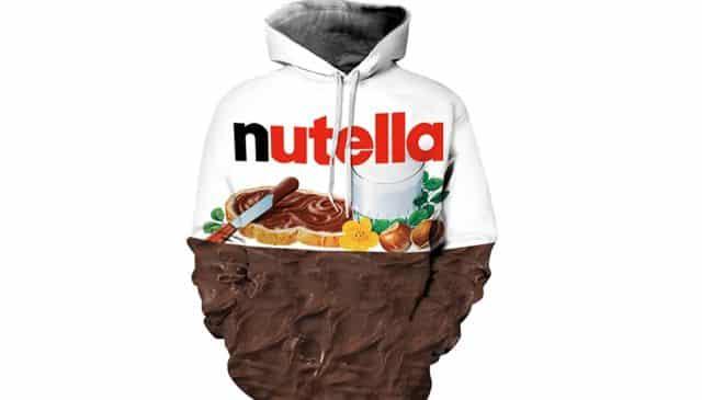 2 C'est le pull parfait pour un fan de Nutella. Alors si vous en connaissez un, vous avez trouvé le cadeau à mettre sous le sapin
