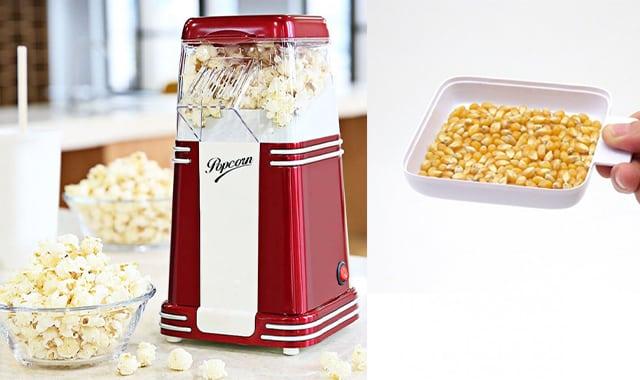 25 Les soirées Netflix n'auront plus le même goût avec cette machine à popcorn au design rétro. Encore une belle idée de cadeau de Noël à s'offrir à soi-même
