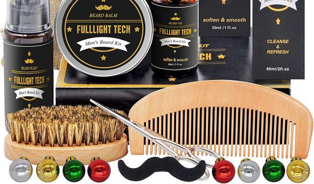 3 Votre papa ou un de vos potes porte la barbe Aidez le à en prendre soin avec cette belle idée de cadeau de Noël. Il aura ainsi la plus belle barbe du monde