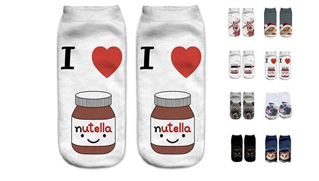 5 Vous connaissez un ou aussi une fan de Nutella. Ces chaussettes sont faites pour lui ou aussi elle. Fan de Nutella de la tête aux pieds