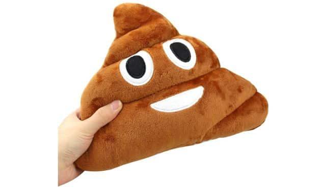 9 Vous voulez offrir un cadeau insolite et aussi drôle à un pote Offrez lui ce coussin emoji caca. Il trouvera toute sa place sur son canapé