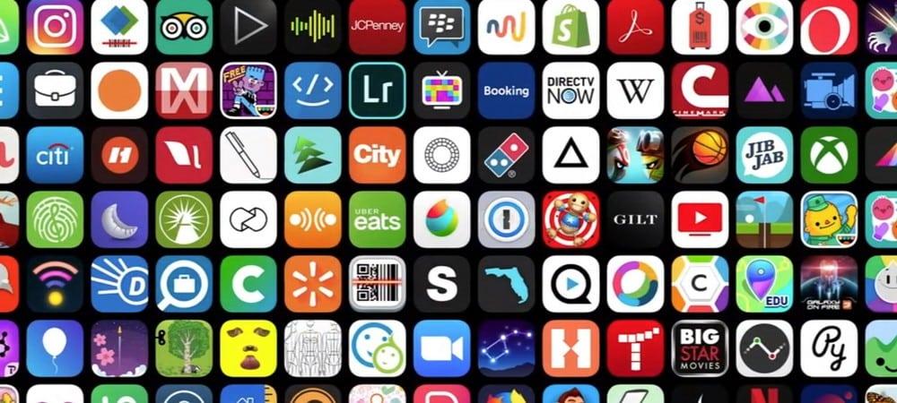 Apple lâche son classement des meilleures applications 2019 !