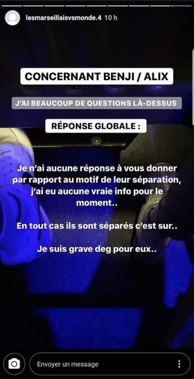 Benjamin et Alix (Les Marseillais) séparés: les raisons de leur rupture dévoilées !
