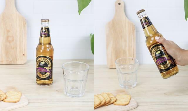 Bière au Beurre Harry Potter sans alcool. On est fan de Harry Potter où on ne l'est pas. Cette petite bière fera sensation pour tous les aficionados de la saga