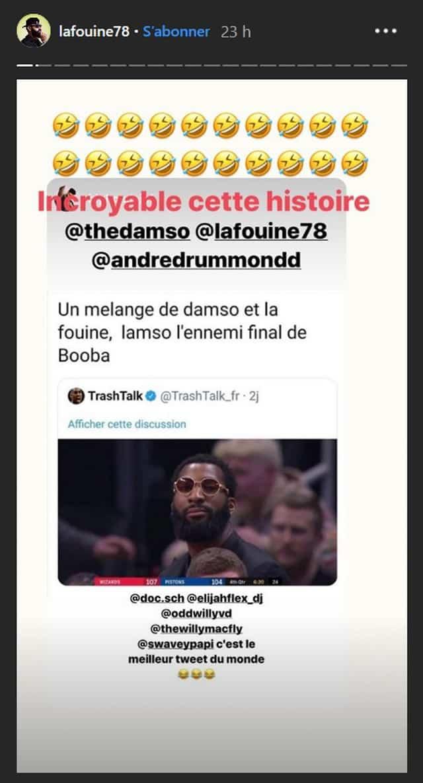 """Booba en clash avec La Fouine et Damso: son """"ennemi final"""" dévoilé !"""