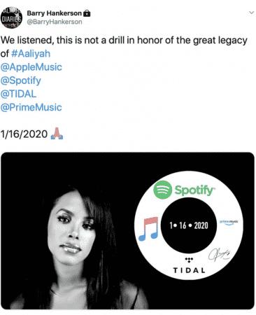 Aaliyah: tous ses morceaux seront bientôt disponibles en streaming !