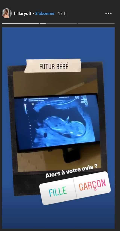 Hillary (Les Anges 12) enceinte: elle dévoile une échographie de son bébé !