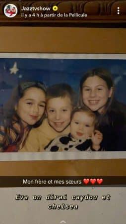 Jazz (JLC Family) dévoile une rare photo de ses frères et soeurs enfants !