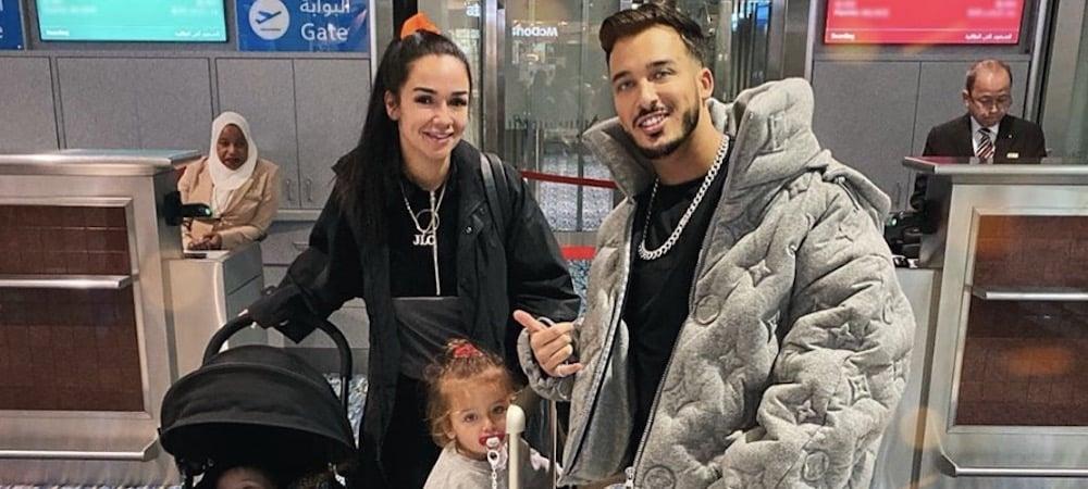 Jazz, Laurent Billionaire (JLC Family) et leurs enfants s'affichent en mode Noël sur Instagram !