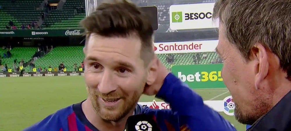 Lionel Messi: quand le célèbre footballeur se fait tacler par sa mère !