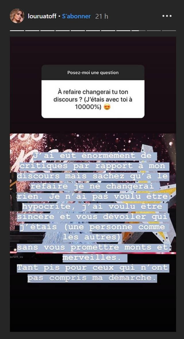 Miss France 2020: le discours de Lou Ruat moqué, elle répond cash !