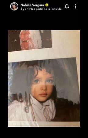 Nabilla maman: elle dévoile une adorable photo d'elle enfant !