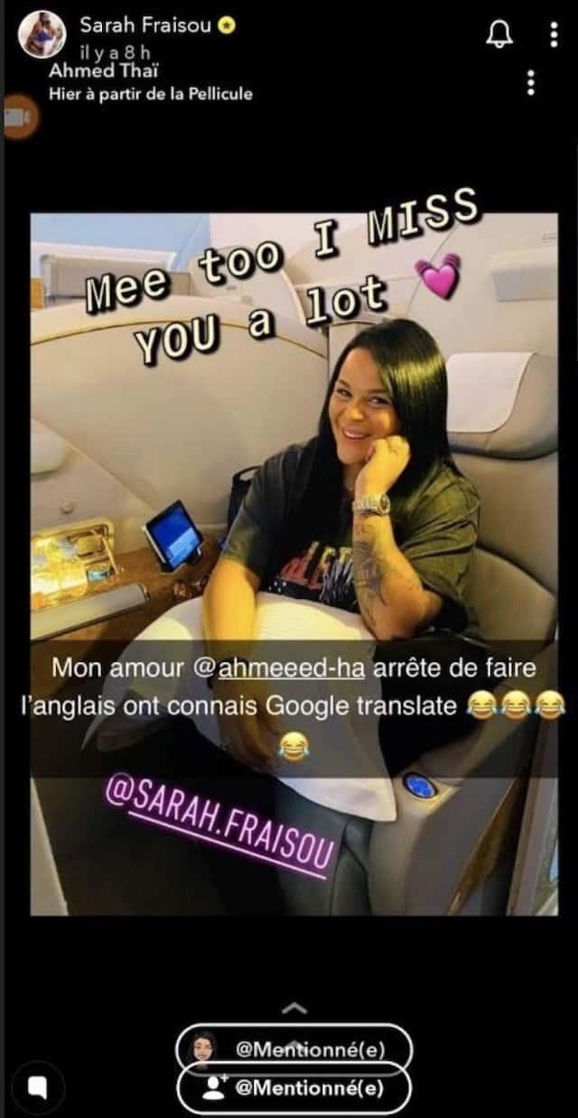 Sarah Fraisou loin d'Ahmed: le couple s'exprime ! (PHOTOS)