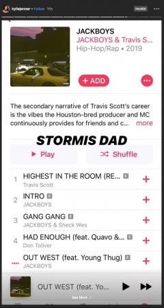 Kylie Jenner promeut l'album de Travis Scott malgré leur séparation !