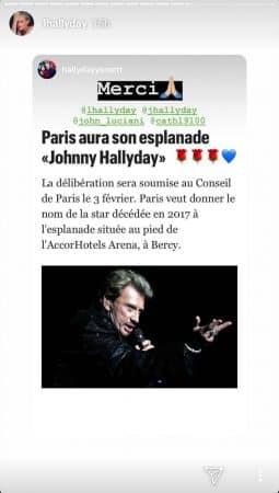 Johnny Hallyday aura une place parisienne à son nom: Laeticia réagit !