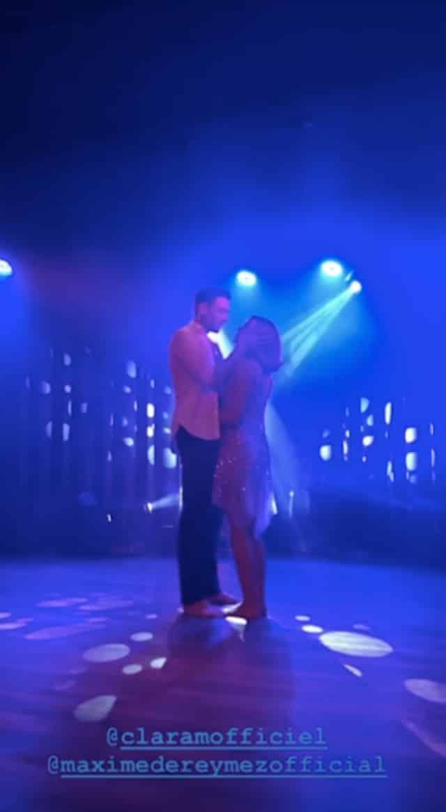 Clara Morgane et Maxime Dereymez (DALS): leurs retrouvailles sexy !
