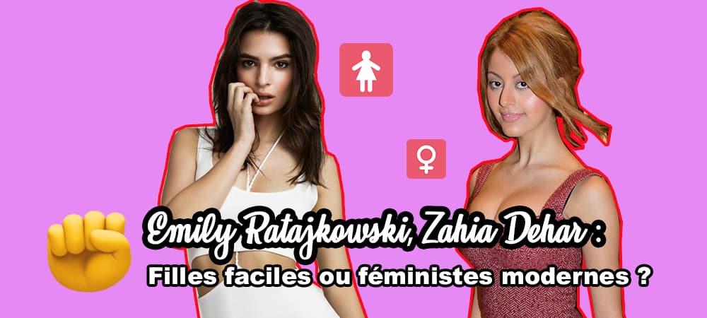 Emily Ratajkowski, Zahia Dehar Filles faciles ou féministes modernes grande