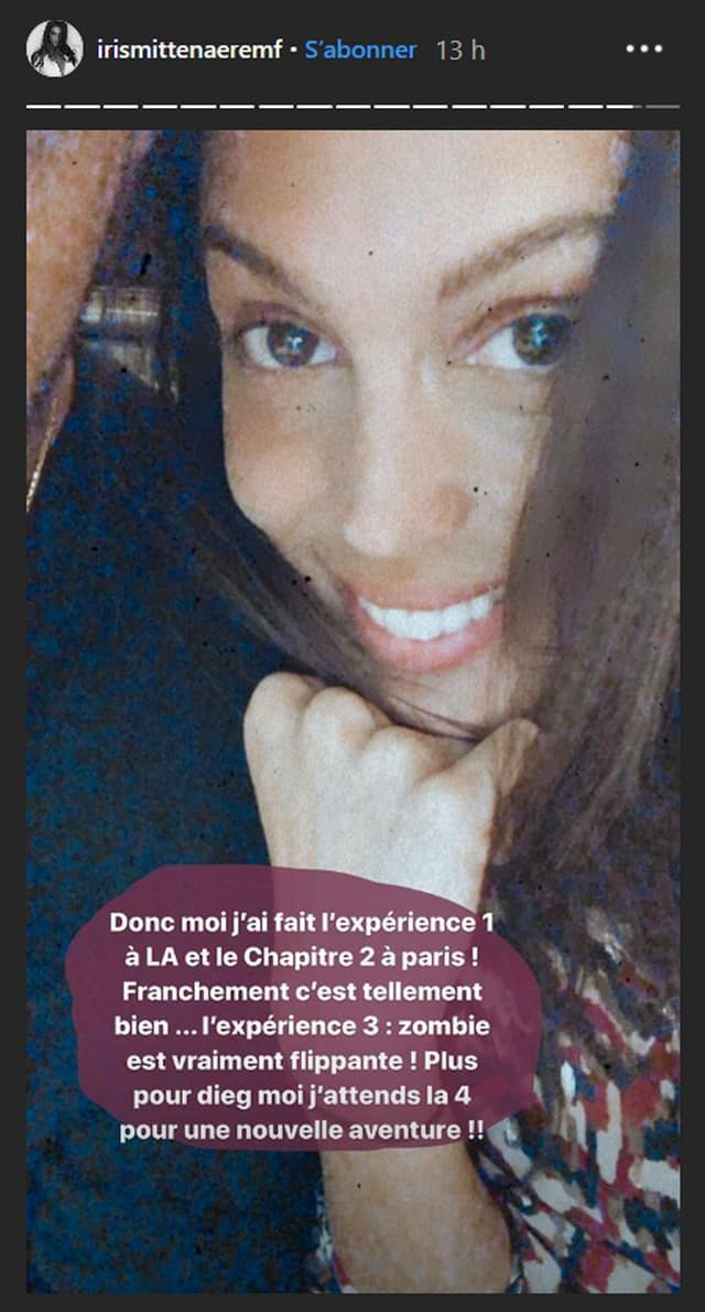 """Iris Mittenaere tente une expérience très """"flippante"""" avec Diego El Glaoui !"""