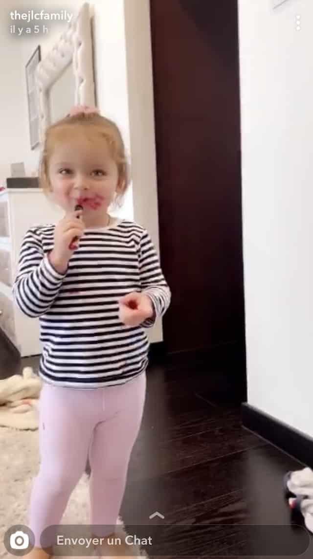 Jazz (JLC Family): sa fille Chelsea est déjà accro au make-up (PHOTO) !