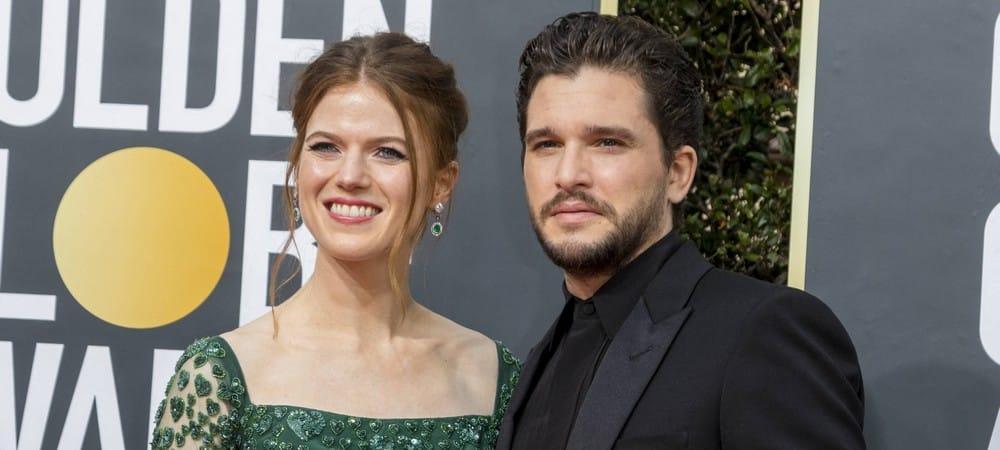Kit Harington (Game of Thrones) et Rose Leslie font le buzz aux Golden Globes !