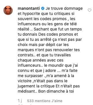 Manon Marsault et Moundir partent en clash ! (PHOTO)
