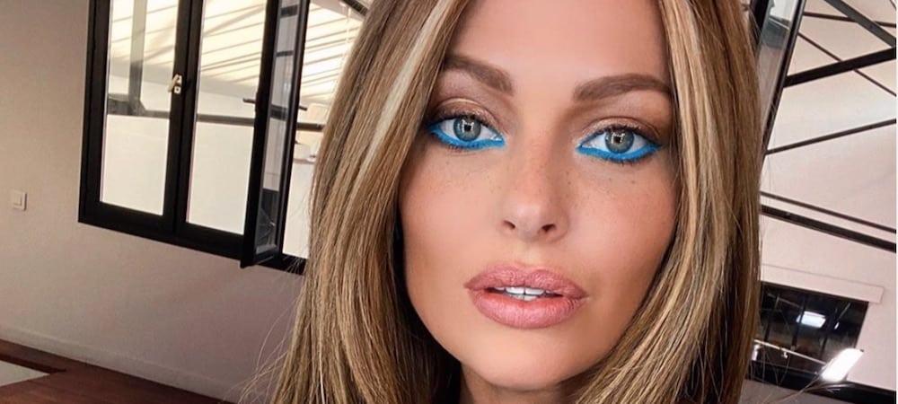 Caroline Receveur a encore frappé sur Instagram! La belle blonde a posté une photo d'elle en total look bleu ciel sur les réseaux !