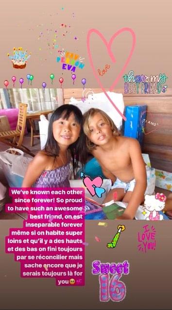 Jade Hallyday: son adorable déclaration d'amitié à son BFF ! (PHOTO)
