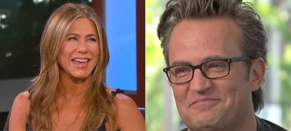 Jennifer Aniston accueille Matthew Perry (Friends) sur Instagram !