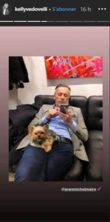 Kelly Vedovelli accro à son chien: elle l'emmène dans les coulisses de TPMP !