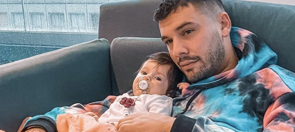 Kevin Guedj: quand le jeune papa habille sa fille Ruby ! (PHOTO)