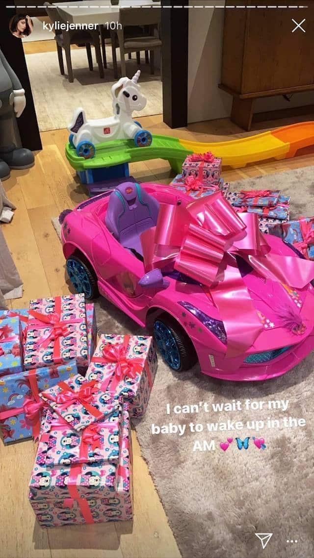 Kylie Jenner: les nombreux cadeaux d'anniversaire de Stormi dévoilés !