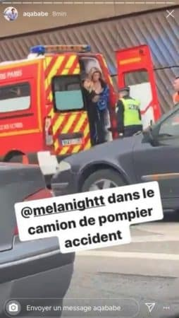 Mélanight victime d'un grave accident de la route ? (PHOTO)