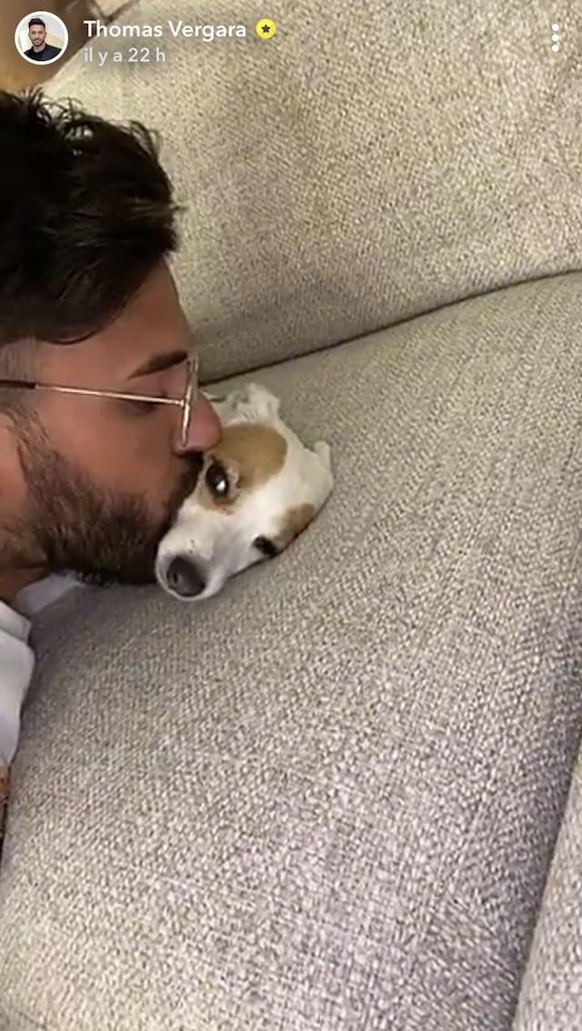 Nabilla: sa petite chienne est jalouse de Milann !